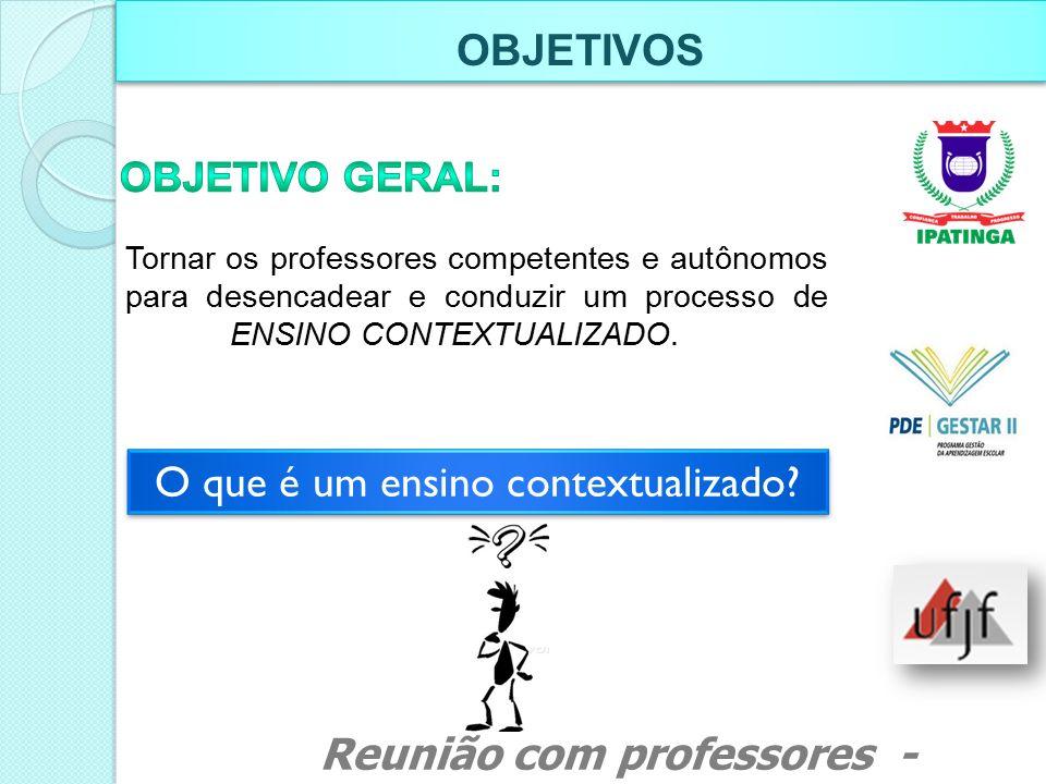 Formação continuada e aprimoramento da prática pedagógica e profissional do professor de Língua Portuguesa e Matemática.