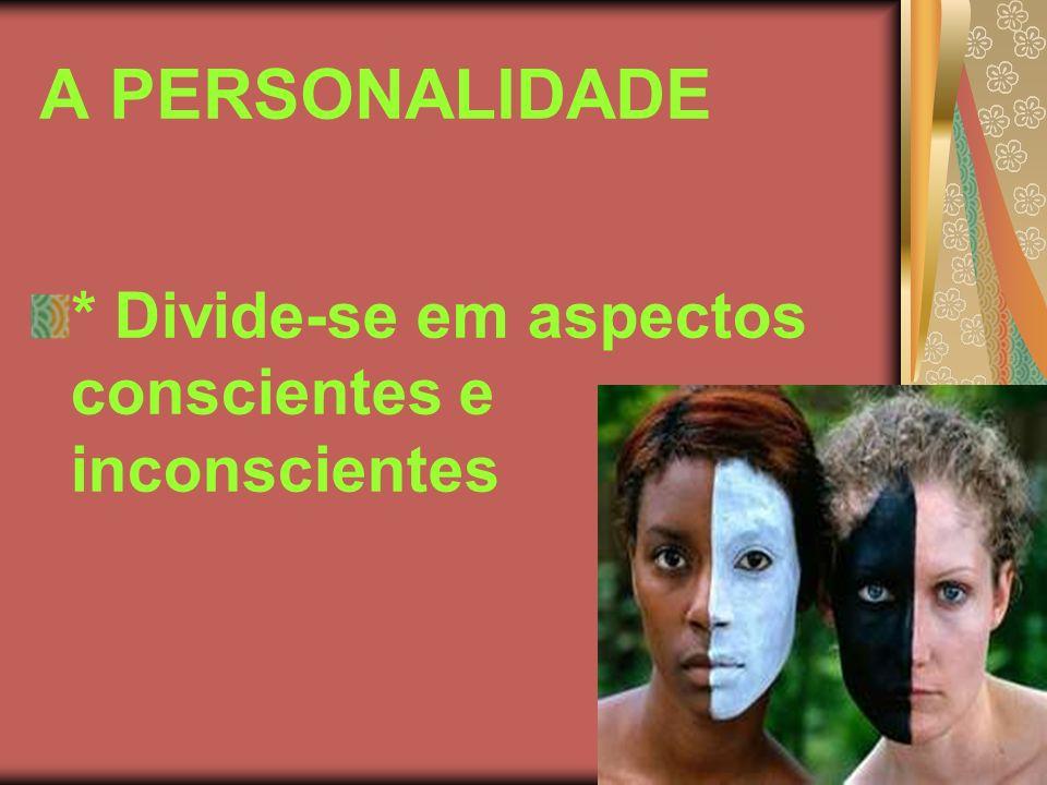 ASPECTOS CONSCIENTES DA PERSONALIDADE INTELIGÊNCIA PENSAMENTO MEMÓRIA PLANEJAMENTO RECONHECIMENTO RACIOCÍNIO ATENÇÃO CONCENTRAÇÃO LINGUAGEM VONTADE