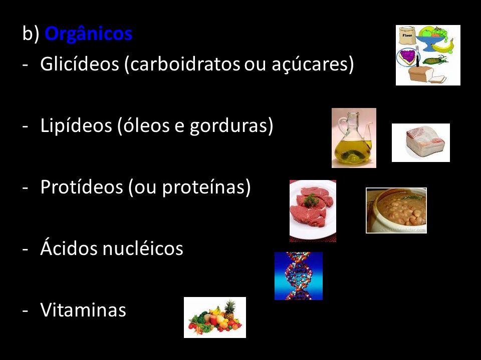 Composição Química da Célula Inorgânicos Água Sais Minerais Orgânicos Proteínas Lipídios Carboidratos Àcidos Nucléicos