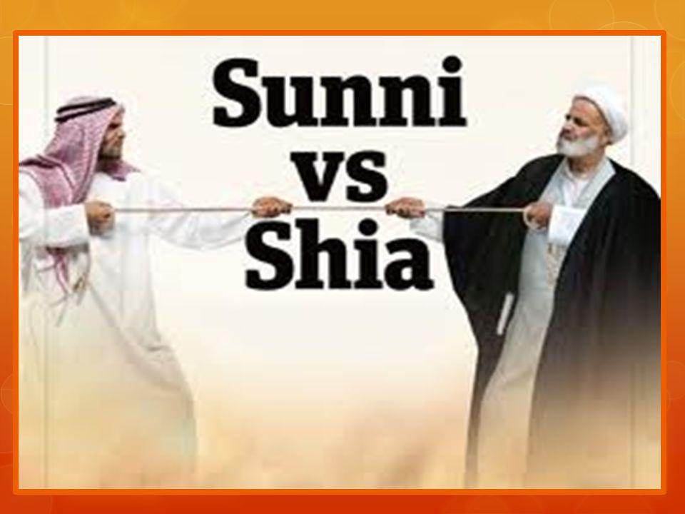 Sunitas ou Sunni o Correspondem a quase 90% dos islâmicos.