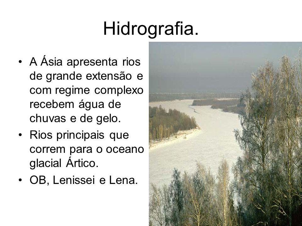 Hidrografia.