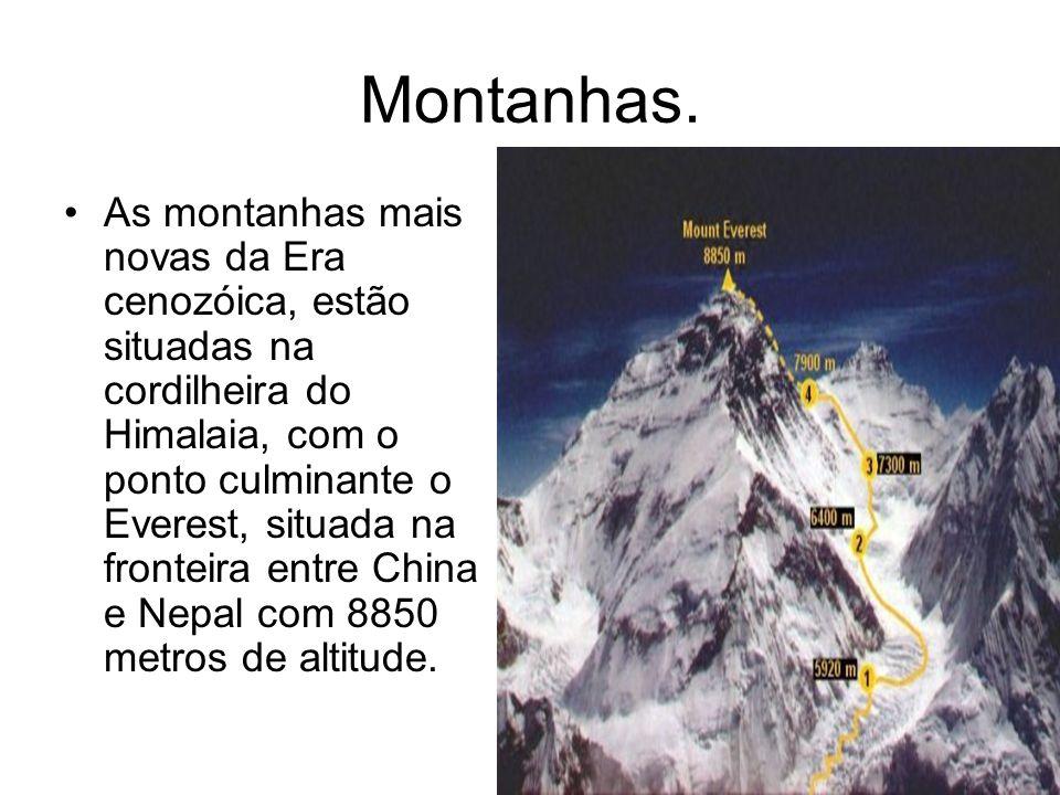 Montanhas.