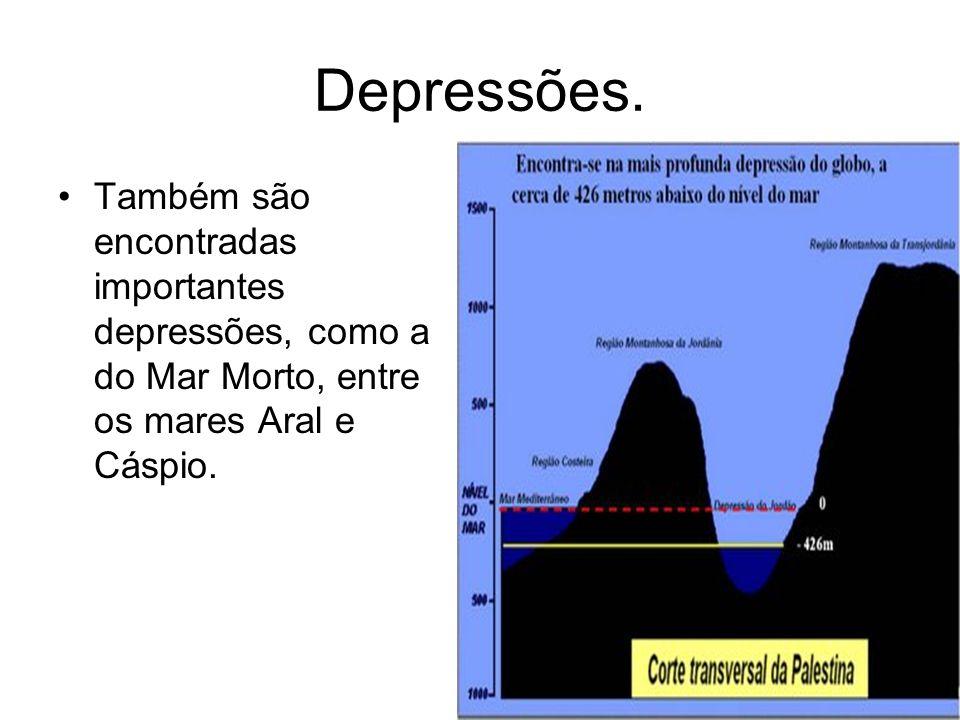 Depressões.