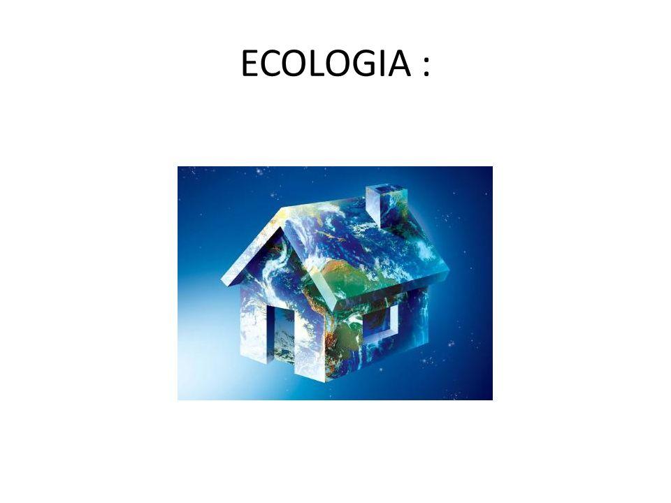 ECOLOGIA :