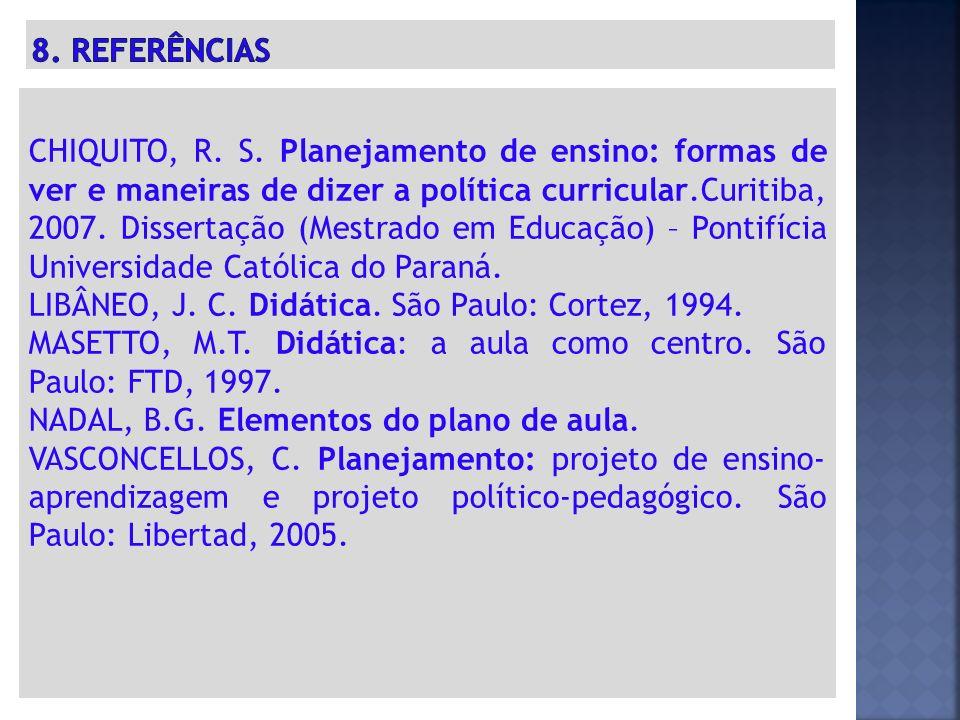 CHIQUITO, R.S.