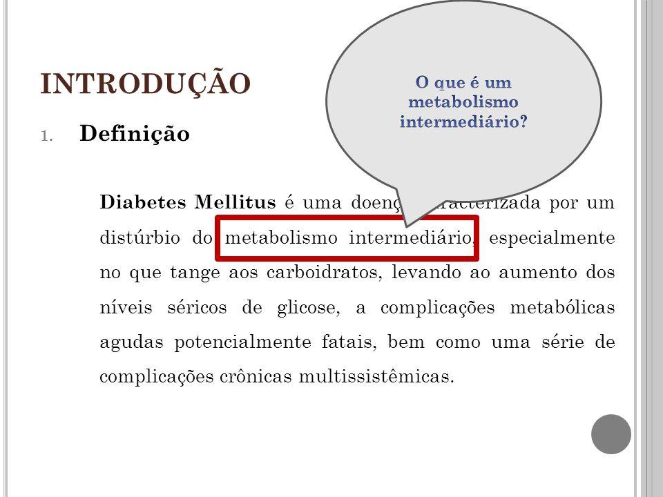 Diabetes Mellitus Tipo 2 O diabetes tipo 2 é uma doença complexa, multifatorial.