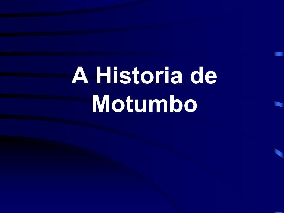 Motumbo era um africano negro, que tinha apenas chegado (ilegalmente ) a Londres.