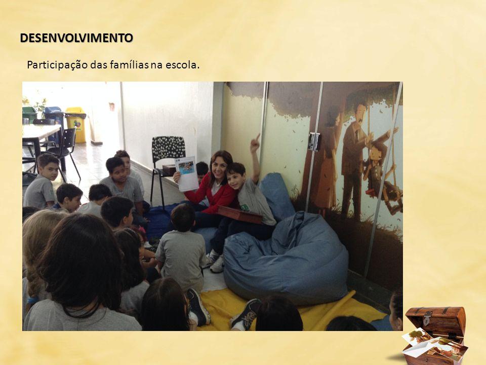 DESENVOLVIMENTO Participação das famílias na escola.