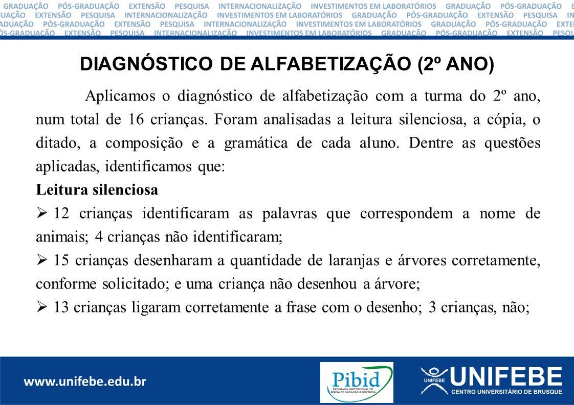 REFERÊNCIAS ARAUJO E OLIVEIRA, João Batista.Alfabetização de Crianças e Adultos: Novos Parâmetros.