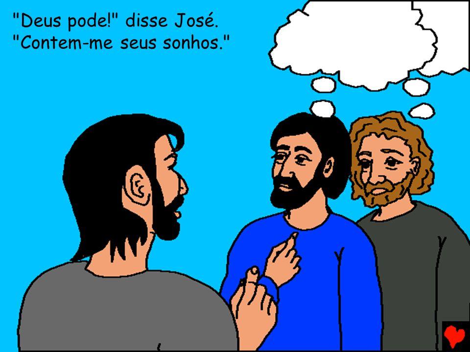 Jacó e José foram reunidos no Egito e toda a família e viveram lá em paz e abundância.