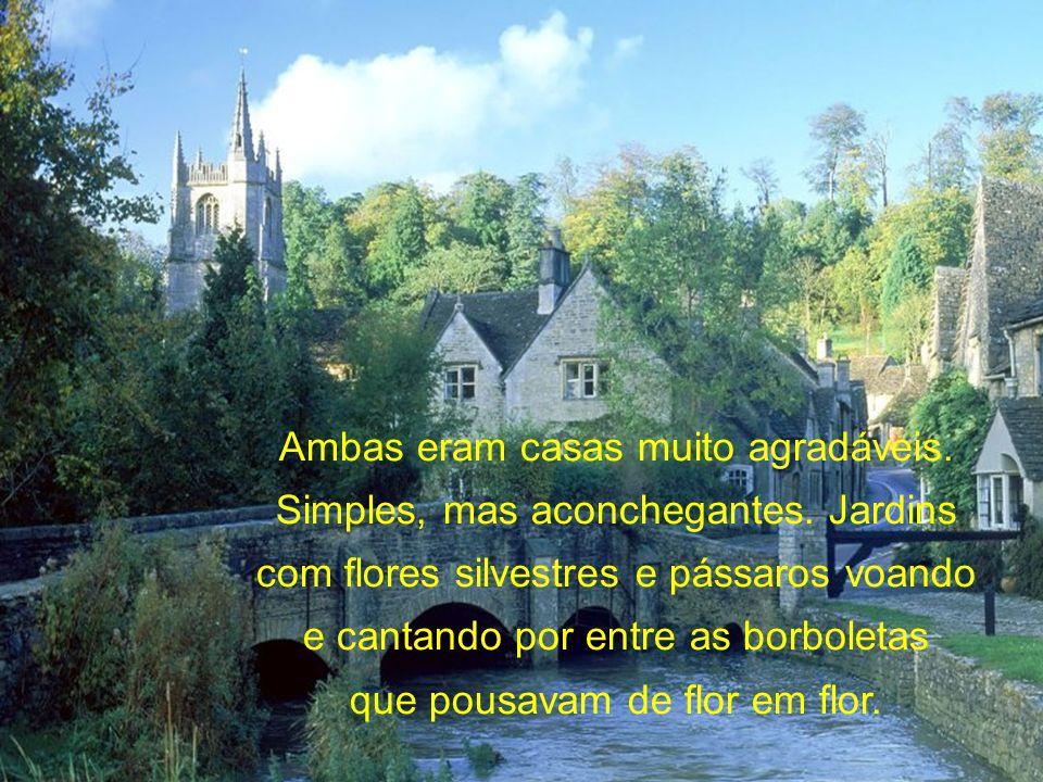 Sem dar nenhuma resposta, andaram por mais algum tempo e o orientador mostrou outra casinha graciosa e disse: essa é a casa do seu jardineiro.