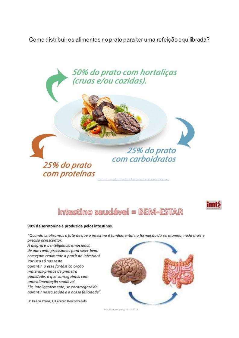 http://www.einstein.br/check-up/Paginas/alimentacao-saudavel.aspx Como distribuir os alimentos no prato para ter uma refeição equilibrada?
