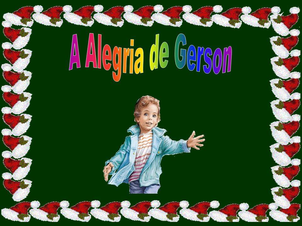 Pelo caminho, Gerson pensava: O dinheiro que vou receber é pouco e o Natal é amanhã.