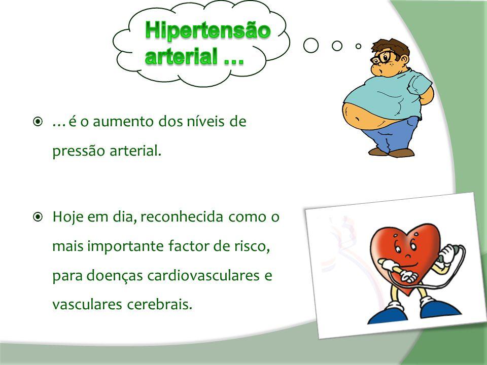  …é o aumento dos níveis de pressão arterial.