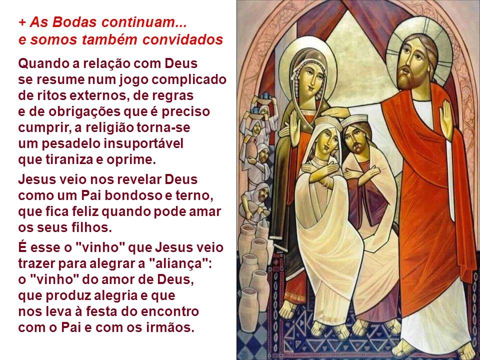 - JESUS: é a Ele que o Israel fiel (a mulher /mãe) se dirige no sentido de dar nova vida a essa aliança caduca.