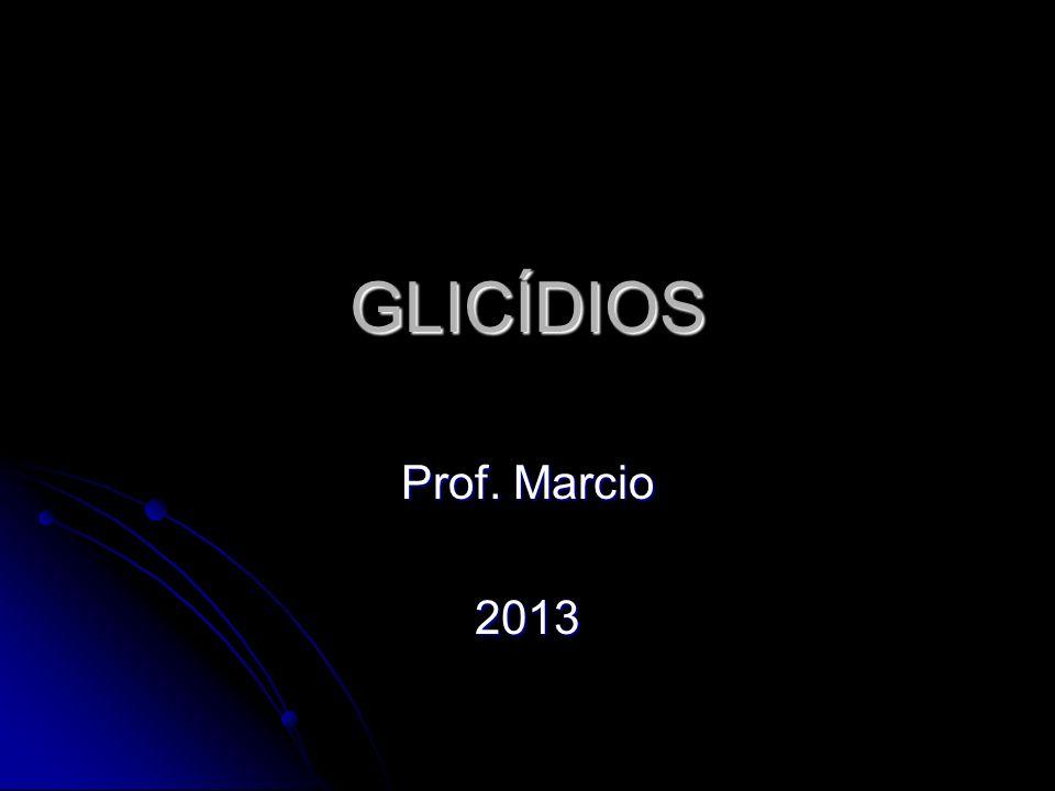 GLICÍDIOS Prof. Marcio 2013