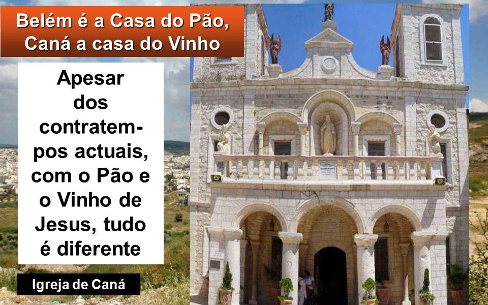 João 2, 1-11 Naquele tempo, realizou-se um casamento em Caná da Galileia e estava lá a Mãe de Jesus.