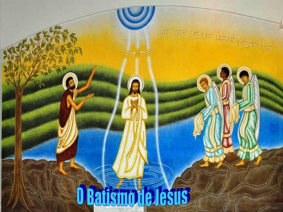 O BATISMO nos tornou: - CRISTÃOS: seguidores de Cristo...