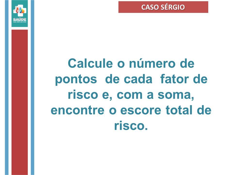 FONTE : Brasil. Ministério da Saúde, Caderno de Atenção Básica nº 29, 2010.