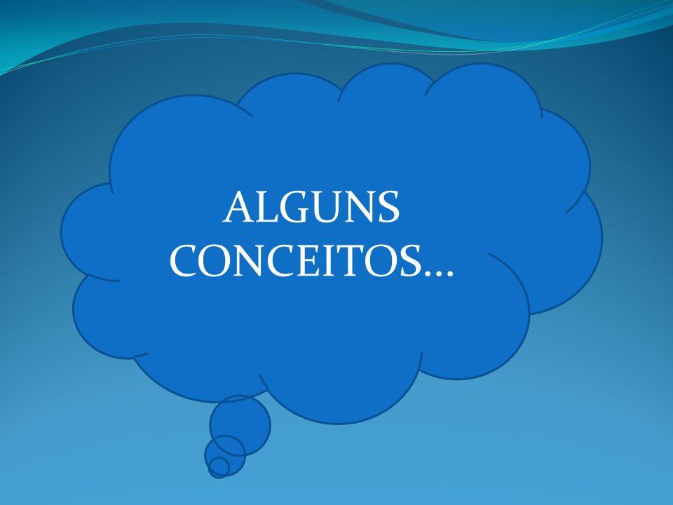 ALGUNS CONCEITOS...