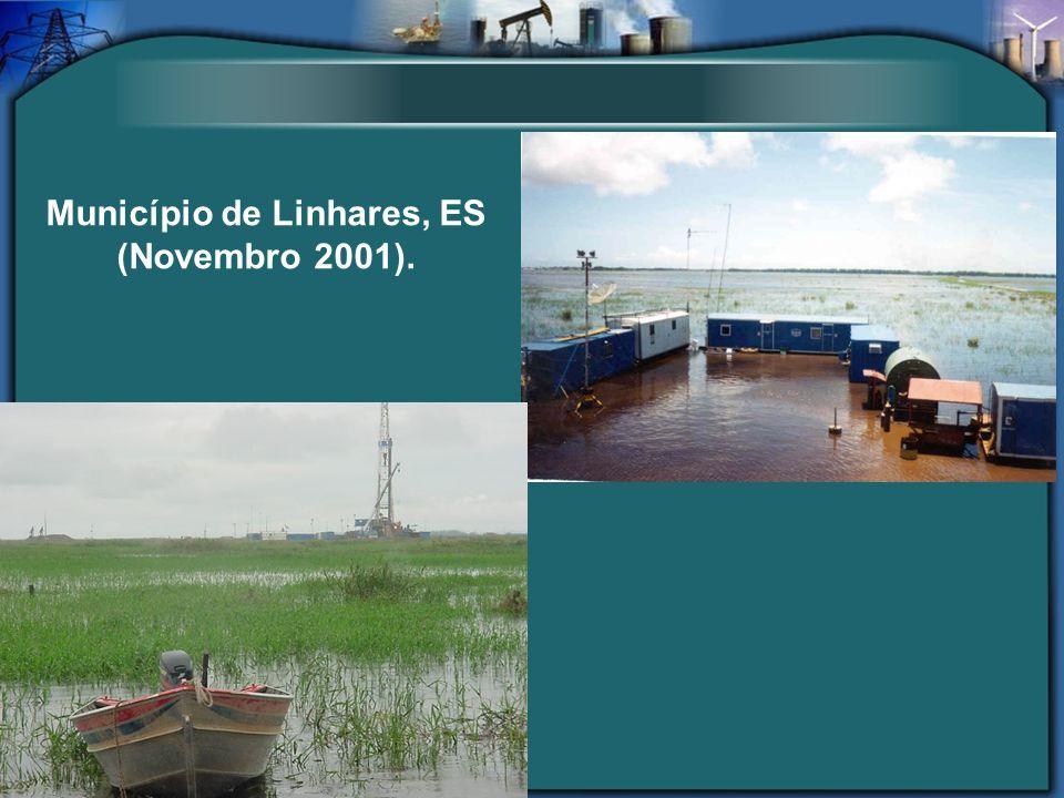 Município de Linhares, ES (Novembro 2001).