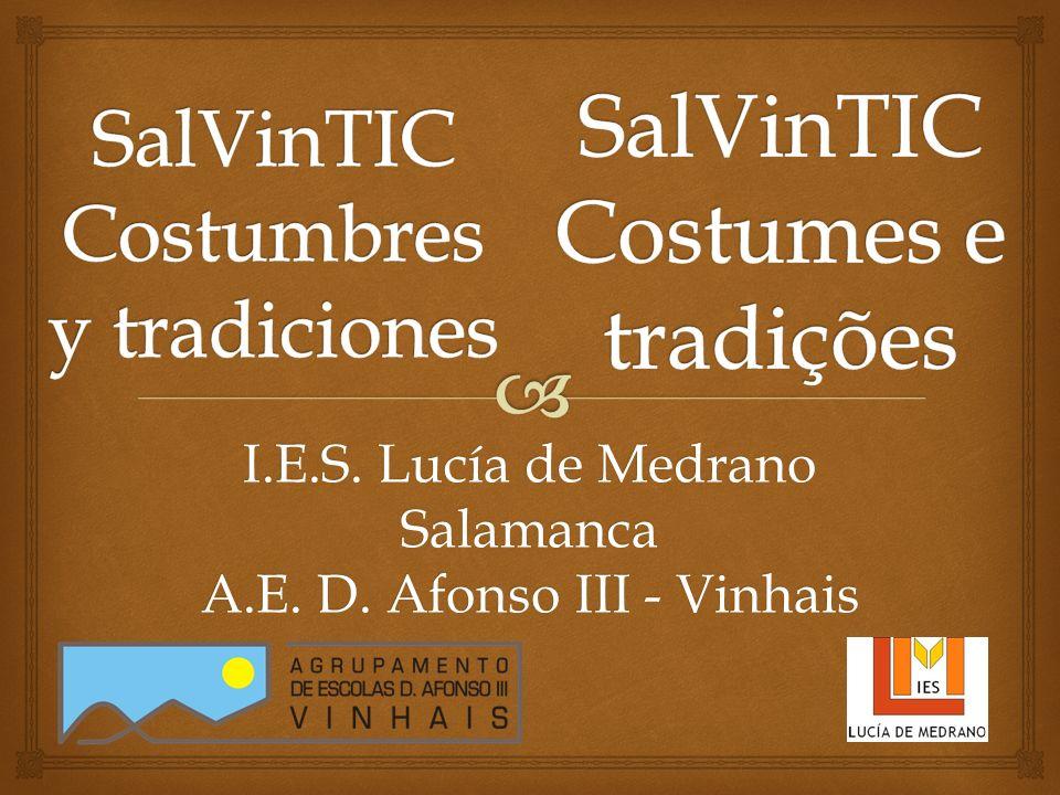 I.E.S. Lucía de Medrano Salamanca A.E. D. Afonso III - Vinhais