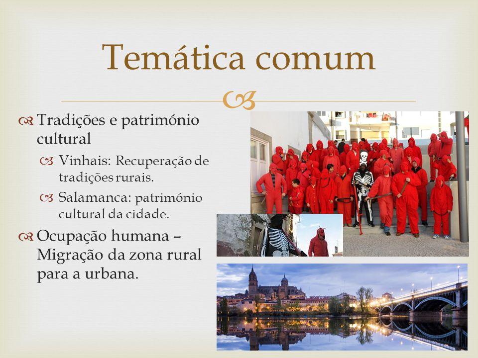 Tradições e património cultural Vinhais: Recuperação de tradições rurais.
