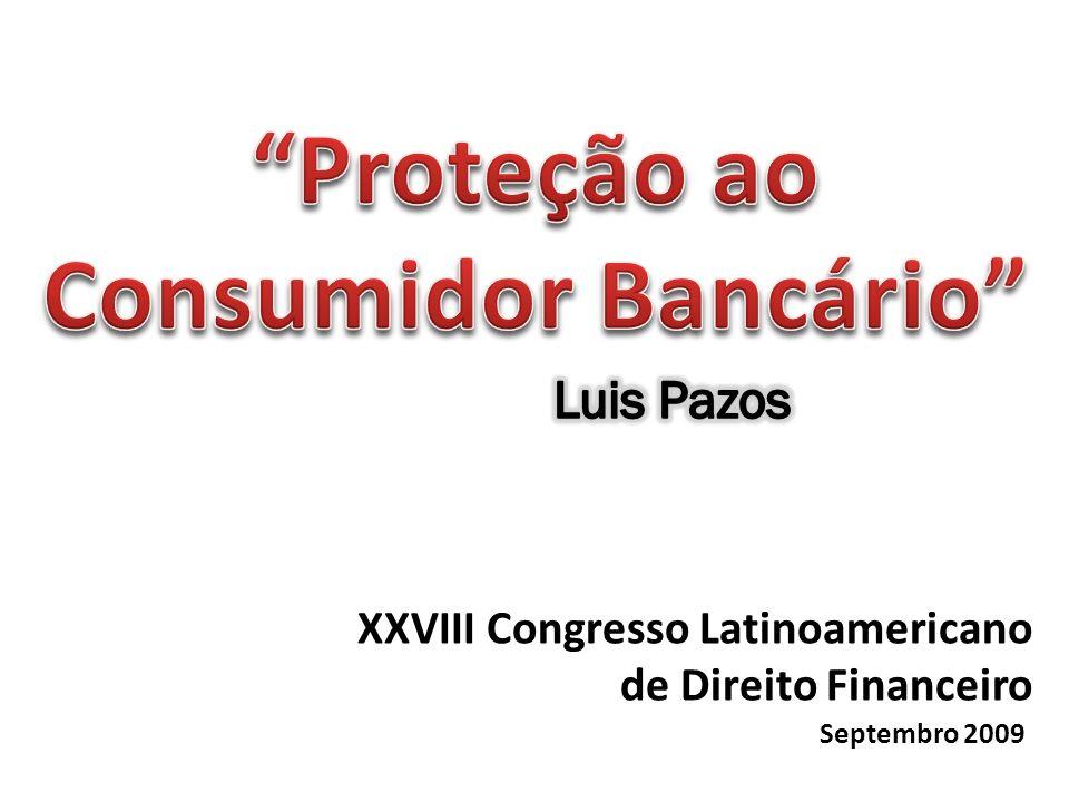 XXVIII Congresso Latinoamericano de Direito Financeiro Septembro 2009