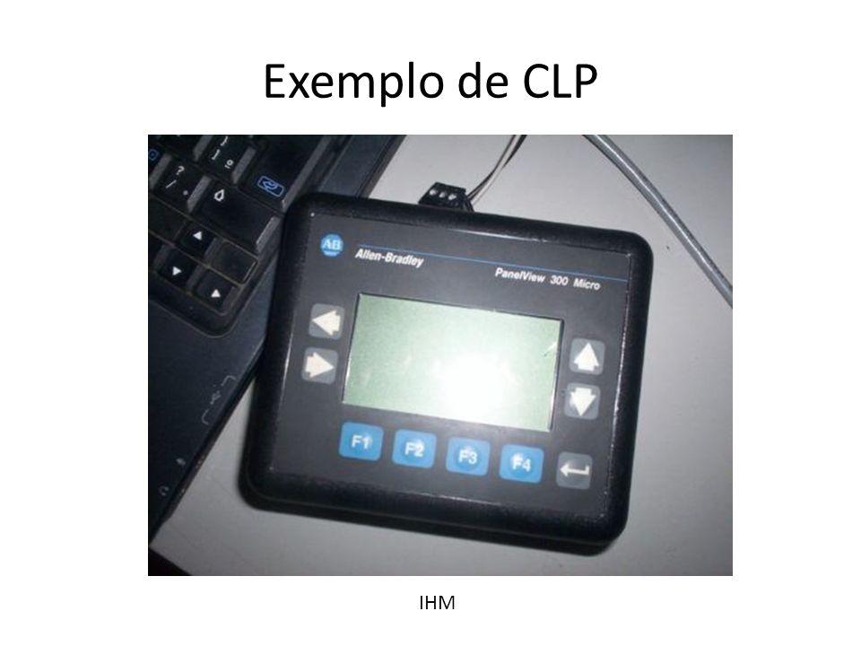 Exemplo de CLP IHM