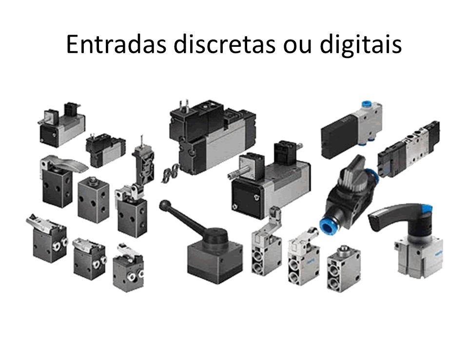 Entradas discretas ou digitais