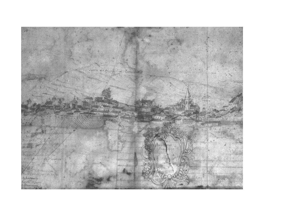Perfil da cidade de Aveiro, 1770-1775 (?) [Museu de Aveiro