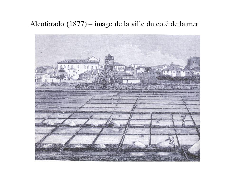 Alcoforado (1877) – image de la ville du coté de la mer