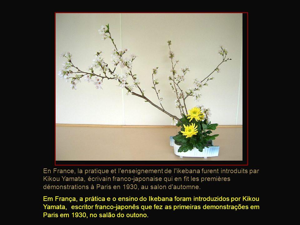 Un style d'arrangement plus sophistiqué et appelé rikka, apparut au XVe siècle. Le style du rikka reflète la splendeur de la nature et lexpose. Um est