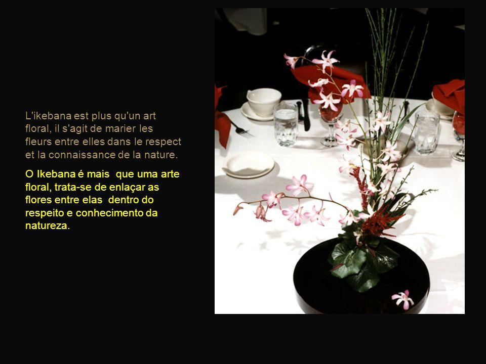Que l'on fasse son premier ou son centième bouquet, l'émotion est la même. Car chaque branche, chaque fleur est unique. Seja o primeiro ou o centésimo