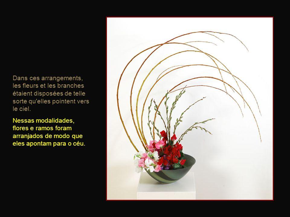 L'origine de l'ikebana est le kyōka, l'offrande de fleurs dans les temples bouddhistes, qui débuta au VIe siècle en Chine. A origem do Ikebana é a Kyo
