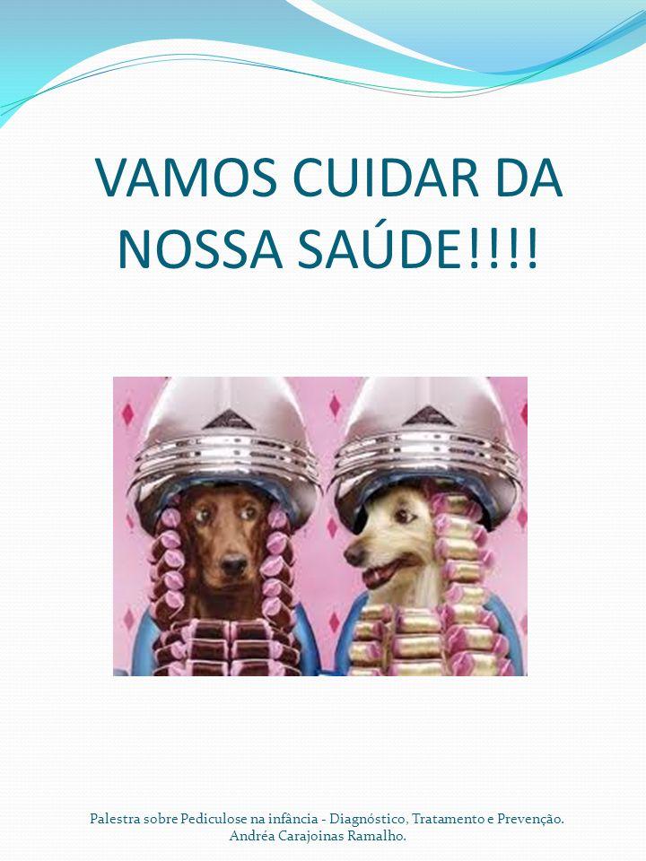 VAMOS CUIDAR DA NOSSA SAÚDE!!!! Palestra sobre Pediculose na infância - Diagnóstico, Tratamento e Prevenção. Andréa Carajoinas Ramalho.