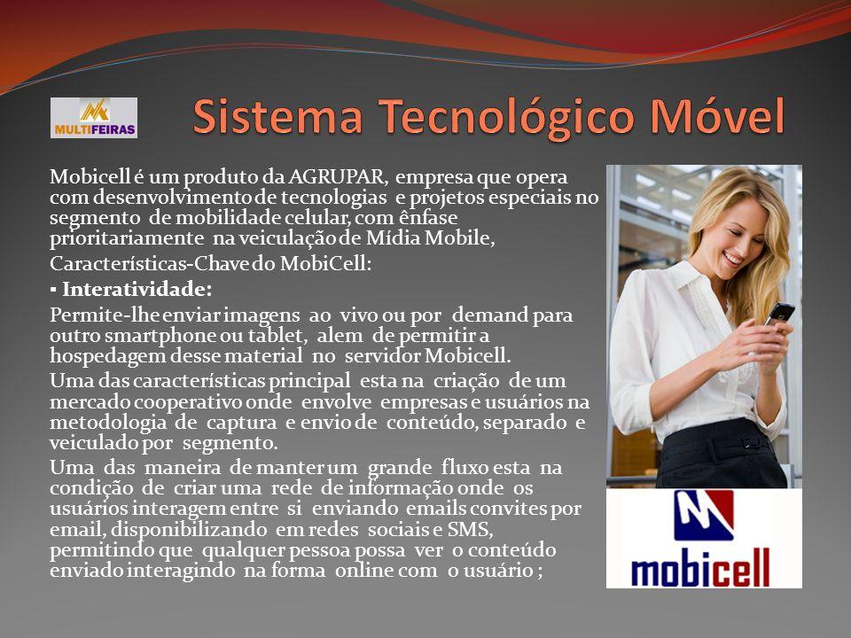Mobicell é um produto da AGRUPAR, empresa que opera com desenvolvimento de tecnologias e projetos especiais no segmento de mobilidade celular, com ênf