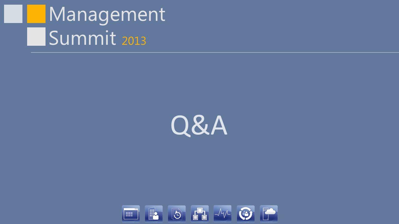 Management Summit 2013 Q&A