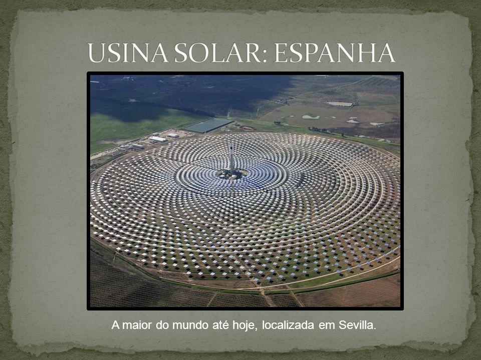 A maior do mundo até hoje, localizada em Sevilla.