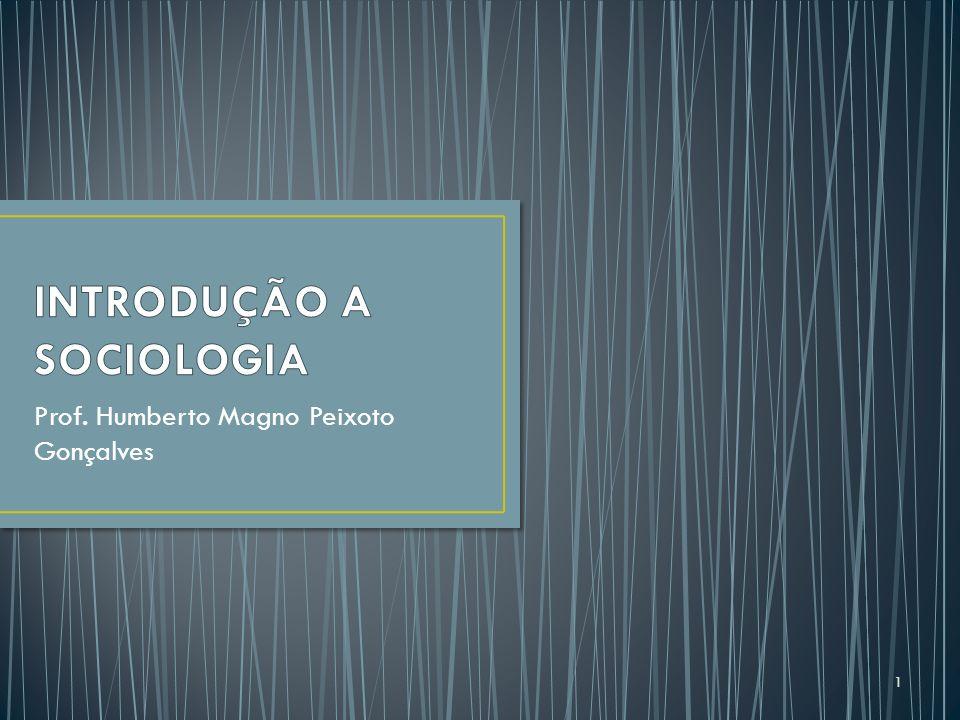 Prof. Humberto Magno Peixoto Gonçalves 1