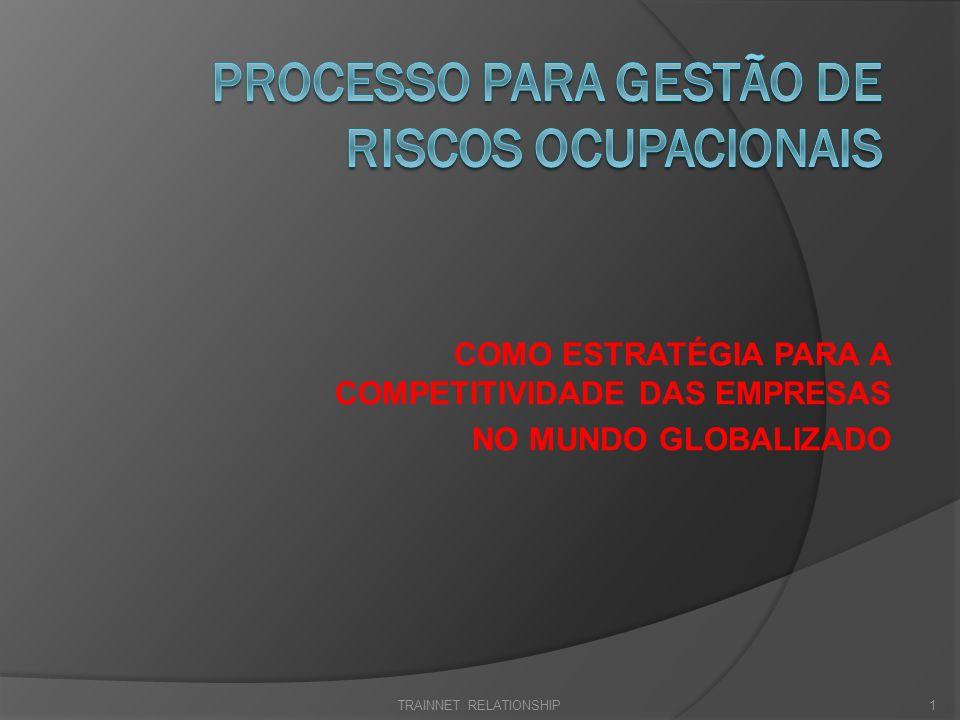 PROCESSO DE GESTÃO DE RISCOS -APLICADO – PGR-A A crise financeira mundial de 2008 e a atual, exige uma atenção específica dos executivos de cada empresa, para a gestão dos riscos ocupacionais, estes existentes nos processos operacionais.