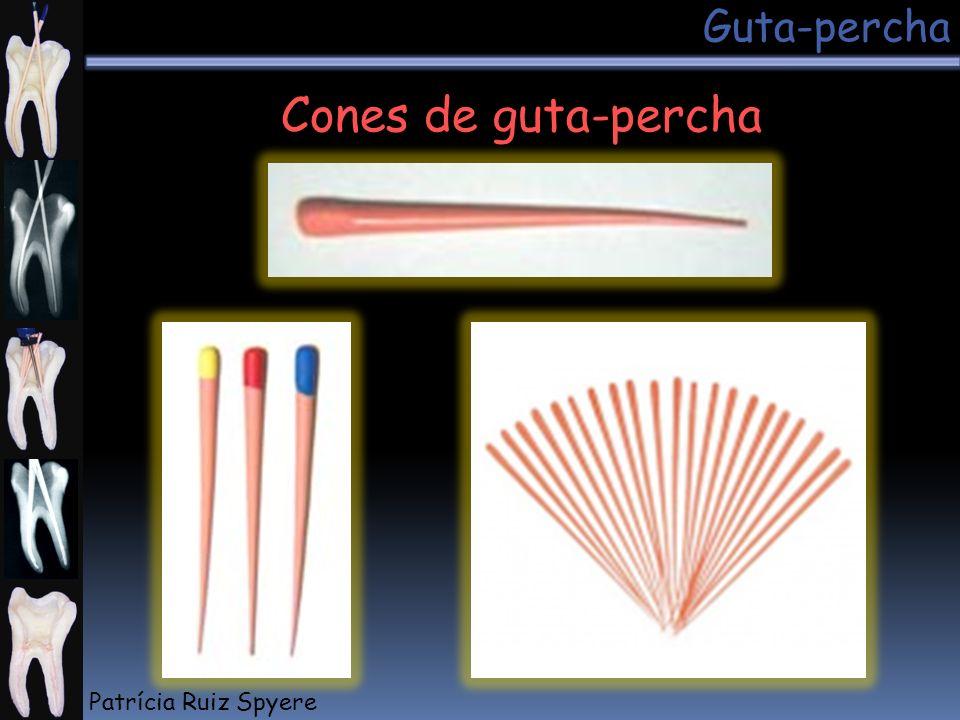 Guta-percha Cones de guta-percha Patrícia Ruiz Spyere