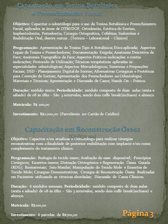 Ligue (31) 8807-0000 Rua Espirito Santo nº 433 – 2º Andar - Centro - Belo Horizonte(MG) www.clinibhposgraduacao.com.br email: pos@clinibh.com.br Prof.Dr.