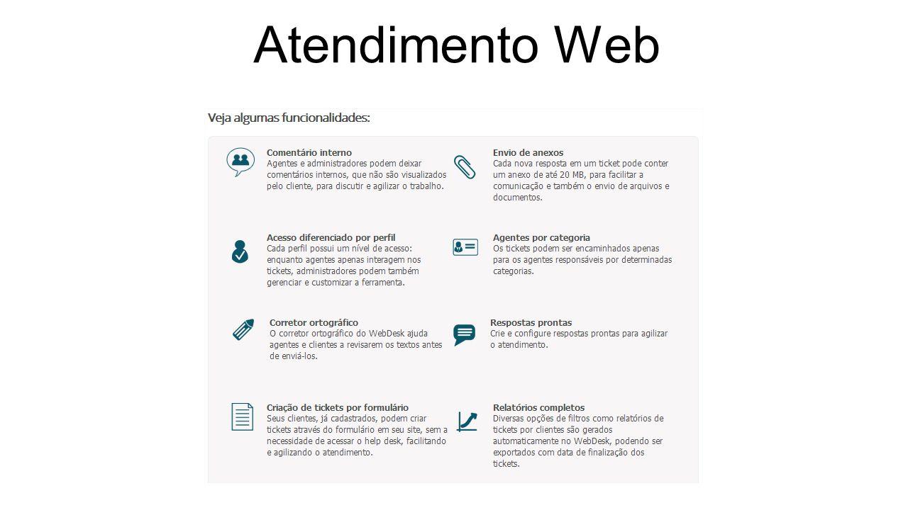 Atendimento Web (Exemplo de interatividade)