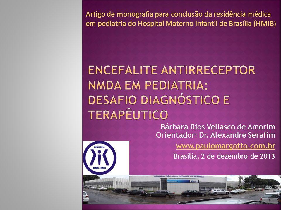 Bárbara Rios Vellasco de Amorim Orientador: Dr. Alexandre Serafim www.paulomargotto.com.br Brasília, 2 de dezembro de 2013 Artigo de monografia para c