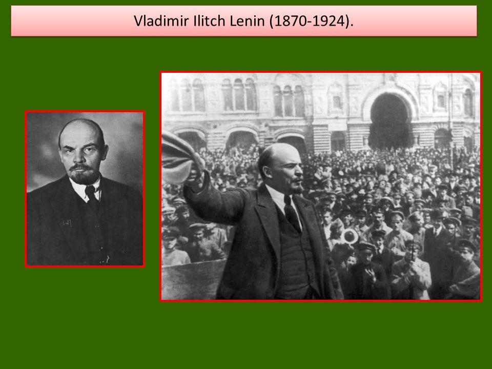 Vladimir Ilitch Lenin (1870-1924).