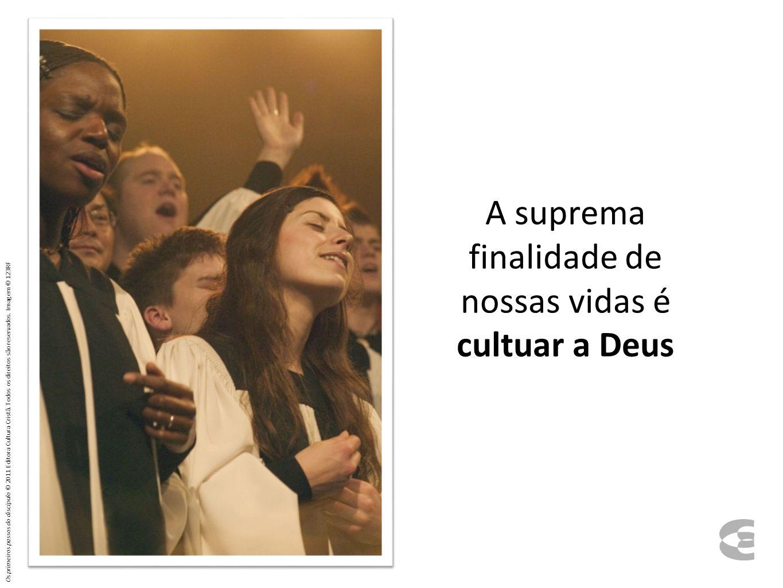 Questões ligadas à profissão de fé 17.6 Os primeiros passos do discípulo © 2011 Editora Cultura Cristã.