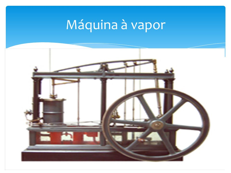 Máquina à vapor