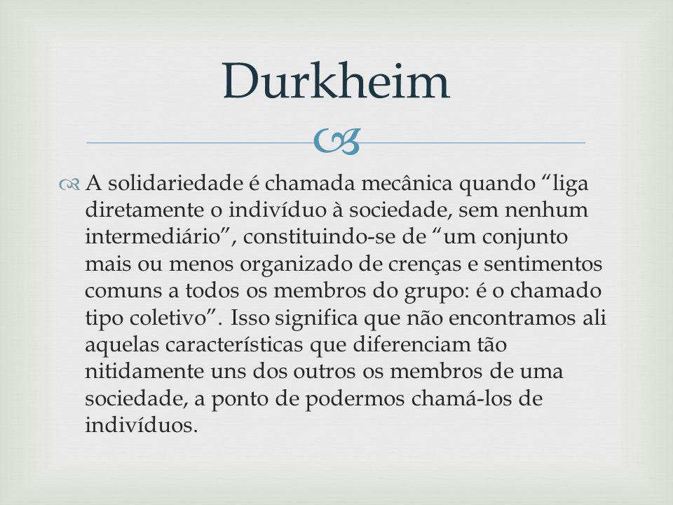 Sentia Durkheim a necessidade de uma nova moralidade que se desenvolvesse a uma velocidade semelhante àquela em que se dava o crescimento industrial e econômico de modo a controlar os afetos.