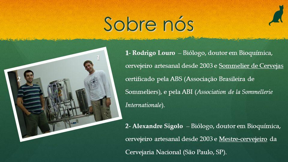 1 1- Rodrigo Louro – Biólogo, doutor em Bioquímica, cervejeiro artesanal desde 2003 e Sommelier de Cervejas certificado pela ABS (Associação Brasileir